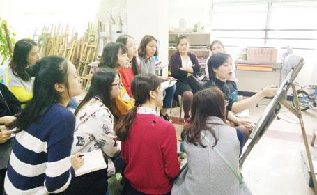 热烈祝贺泸州市徐浩美术培训学校网站正式上线